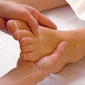 massage shiatsu pied