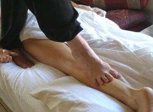 shiatsu pieds nus